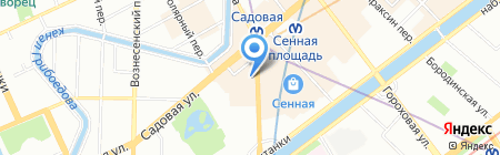 Сигма-Газ на карте Санкт-Петербурга