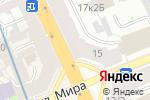 Схема проезда до компании Инсталл в Санкт-Петербурге