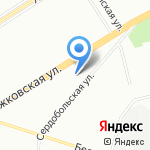 Жилкомсервис №2 Приморского района на карте Санкт-Петербурга