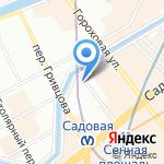 Нотариус Фомичёва Е.Ю. на карте Санкт-Петербурга