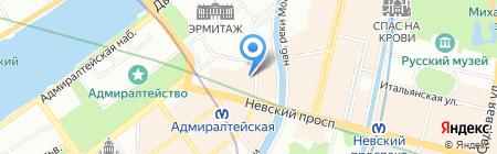 Алекс Тур на карте Санкт-Петербурга