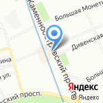 Сладкий сувенир на карте Санкт-Петербурга