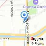 ПЕРВЫЙ ДЕТСКИЙ ЭСТРАДНЫЙ ЦЕНТР на карте Санкт-Петербурга
