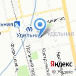 FINN FAMILY на карте Санкт-Петербурга