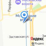 Семь озёр на карте Санкт-Петербурга