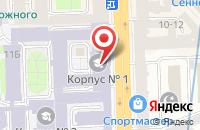 Схема проезда до компании Вектор Цели в Санкт-Петербурге