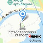 Центр музейной педагогики на карте Санкт-Петербурга