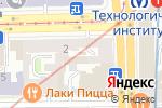 Схема проезда до компании Хеликс в Санкт-Петербурге