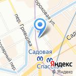 Berloga на карте Санкт-Петербурга