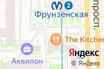 Схема проезда до компании The Kitchen в Санкт-Петербурге