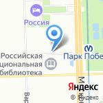 Магазин парфюмерии и аксессуаров на карте Санкт-Петербурга