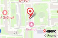 Схема проезда до компании Терсикон в Санкт-Петербурге