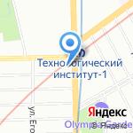 Аналитик Тендер на карте Санкт-Петербурга