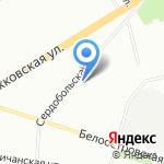 Средняя общеобразовательная школа №106 на карте Санкт-Петербурга