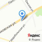 СлавСтройИнвест-Реконструкция на карте Санкт-Петербурга