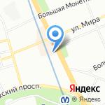 Sargas на карте Санкт-Петербурга