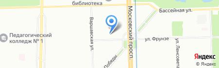 Тафуди на карте Санкт-Петербурга