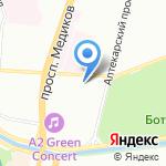 Равелин Лтд на карте Санкт-Петербурга