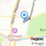 AutoBox на карте Санкт-Петербурга
