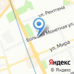 Медицинский центр им. Пастера на карте Санкт-Петербурга