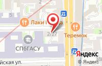 Схема проезда до компании Северо-Западный Центр Тестирования в Санкт-Петербурге