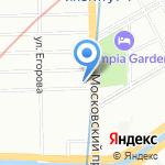 21 Верста на карте Санкт-Петербурга