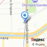 Торговый Дом Недвижимости на карте Санкт-Петербурга