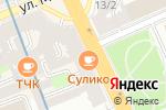 Схема проезда до компании Сулико в Санкт-Петербурге