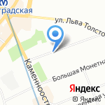 Да на карте Санкт-Петербурга