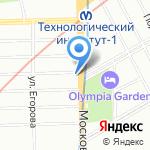 Промальп технологии на карте Санкт-Петербурга