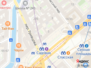 Аренда помещения свободного назначения 49 м2, метро Садовая