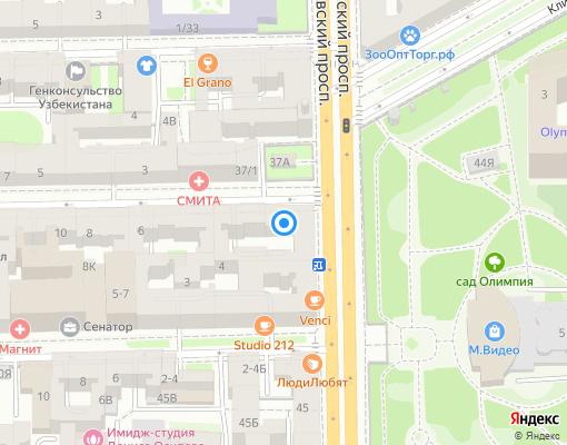 Управляющая компания «Петербургский дом» на карте Санкт-Петербурга