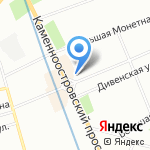 Балтийская аудиторская компания на карте Санкт-Петербурга