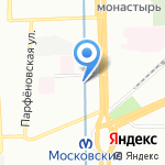 Holiday Inn на карте Санкт-Петербурга
