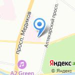 Клиника на карте Санкт-Петербурга