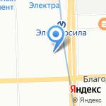 Эконом на карте Санкт-Петербурга