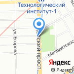 Подружка Игрушка на карте Санкт-Петербурга