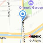 Дым Коромыслом на карте Санкт-Петербурга