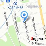 Санкт-Петербургская евангелическая Богословская Академия на карте Санкт-Петербурга