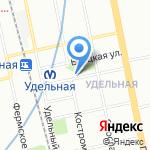 Дарница на карте Санкт-Петербурга