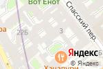 Схема проезда до компании Жилкомсервис №2 Адмиралтейского района в Санкт-Петербурге