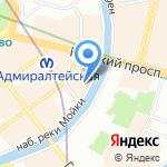 MAXIMUS на карте Санкт-Петербурга