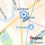Fastmoney на карте Санкт-Петербурга