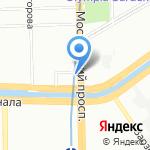 М63 на карте Санкт-Петербурга