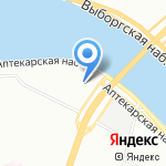 Safesmoking на карте Санкт-Петербурга