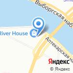 Эхо Петербурга на карте Санкт-Петербурга