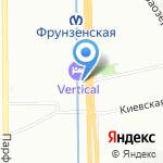 Аста ла виста на карте Санкт-Петербурга