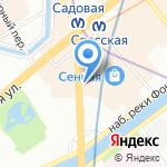 Финам на карте Санкт-Петербурга