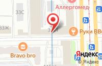 Схема проезда до компании Теста СПб в Санкт-Петербурге