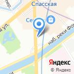 Медина на карте Санкт-Петербурга